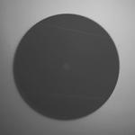 顯微鏡下的光纖連接器端面