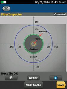 詳細檢查所有光纖連接器上的元件