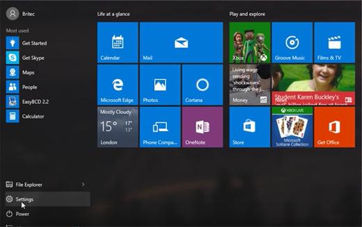 Windows10 setup