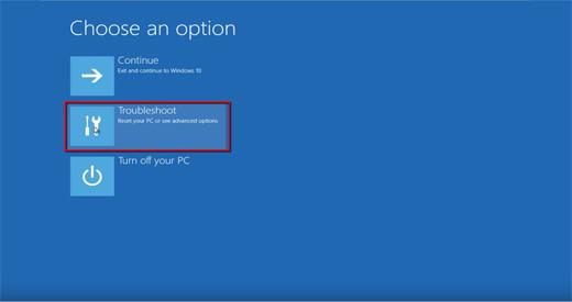 Windows10 Troubleshoot